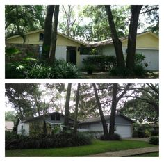 Before and After Exterior Paint