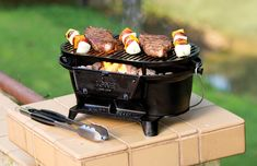 Wonderful Seen On The Set Of Project Smoke, The Rugged Lodge Sportsmanu0027s Is A Cast  Iron Hibachi Style Charcoal Grill. See Steven Raichlenu0026 Tips For Using This  Grill.