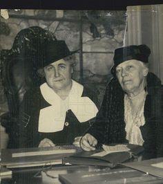 1933 Press Photo Mrs Woodrow Wilson Mrs William Howard Taft  Red Cross Volunteer