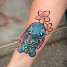 "1,648 Likes, 24 Comments - Michela Bottin Tattoo Artist (@michelabottin) on Instagram: ""#stitch #stitchtattoo #disneystitch #disneytattoo #cutetattoo #sweettattoo #inkeddisney…"""