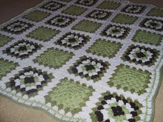 granny square afghan by slockwoo