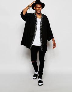 Os Kimonos Masculinos estão dominando o Street Style | Kimono ...