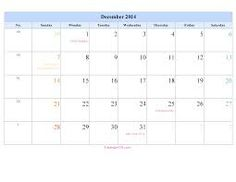 December 2014 Calendar, 2014 Calendar Printable, Periodic Table, Printables, Templates, Images, Calendar For 2016, Search, Periodic Table Chart