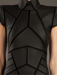 Gareth Pugh Geometric Panelled Dress
