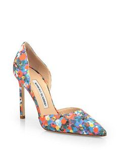 Shopping for floral pumps and of course THESE are the ones I fall in love with!