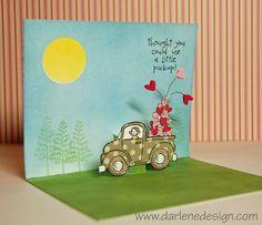 Loads of Love Popup - inside 2 of 2 Video Blog Tutorial by Darlene Devries