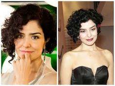 cabelos curtos cacheados - Pesquisa Google