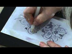 LU HERINGER - LATONAGEM COM CARIMBOS - PARTE 2 - YouTube Χειροποίητο ανάγλυφο πάνω σε φύλλο αλουμινίου