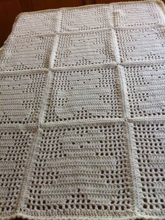 Teddy Blanket - Cream shimmer Teddy Bear Square by Judith Prindle from Crochet Patterns Only