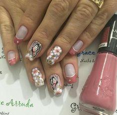 Make Color, Beauty Nails, Nail Art Designs, Kai, Designed Nails, Rouge, Make Up, Pink, Classy Nails