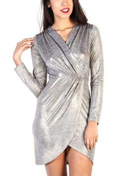 Metallic Gold Dress