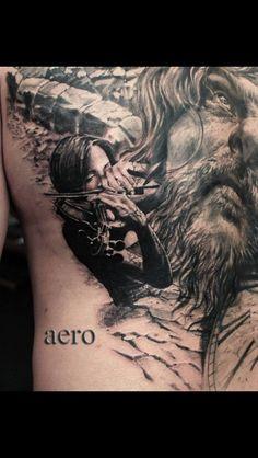 Tattoo-Foto: Aero