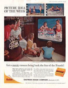 Kodak ad with dachshund