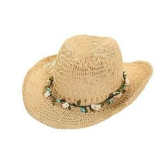Great garden hat on Ebay:  Womens/Ladies Shapeable Straw Cowboy Hat with garland trim. fast post 1st class