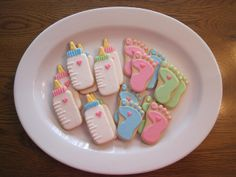images of baby bottle cookies | BABY BOTTLE AND SWEET FEET COOKIES | Flickr - Photo Sharing!