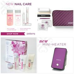 Post 11: Did you know that Jamberry also carries Hand and Nail Care products? The very first product I bought was the Application Kit which comes in a cute plum bag that fits everything to apply my wraps AND my nail wraps as well! New products include a non-acetone lacquer remover which is great for removing wraps, nail cleaner, cuticle remover and oil. The Heater I'm pretty sure saved my relationship with my roommates because of how quiet it is vs. a hair dryer.