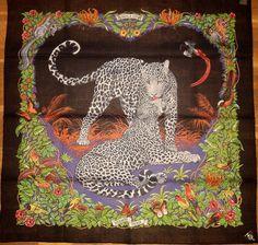 #it'smine #hermes jungle love square #scarf