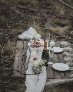 winter engagement picnic ideas