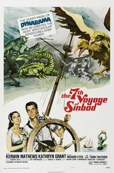 The 7th Voyage of Sinbad, directed by Nathan H. Juran, animated by Ray Harryhausen, 1958.