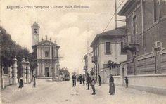 Legnano, Percorso del Tram di Legnano, 1905