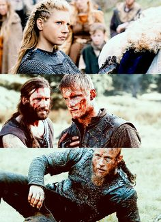 lecter-md:  Vikings | Answers In Blood | Lagertha, Bjorn, Rollo & Ragnar