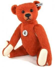 For something a bit different take a look at this Steiff Limited Edition Replica 1912/1913 Red Bear. He is made of the finest short pile bright red mohair and is completed with a growler in his tummy.