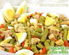 ensalada de judías verdes