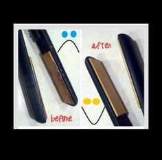Clean your flat iron in less than five minutes.  These tips are great.