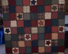 Love this rag quilt!
