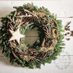 All Details You Need to Know About Home Decoration - Modern Natural Christmas, Winter Christmas, Christmas Time, Christmas Crafts, Christmas Decorations, Holiday Decor, Xmas Wreaths, Door Wreaths, Hello December Pictures