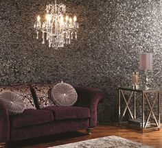 If you want all out glamour look no further than the gorgeous Black Pearl tiles from the Glassworks collection by Original Style.