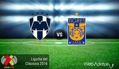 Monterrey vs Tigres, Liguilla del Clausura 2016 ¡En vivo por internet! - https://webadictos.com/2016/05/14/monterrey-vs-tigres-liguilla-clausura-2016/?utm_source=PN&utm_medium=Pinterest&utm_campaign=PN%2Bposts