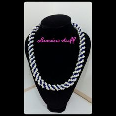 Blue-white pearl Necklace 2nd ed