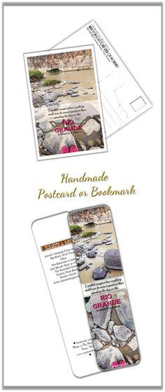 Rio Grande Texas Love -  Handmade Postcard Outdoors Desert Travel Big Bend Digital photo 4x6 or 5x7 (1.50 USD) by MyDesertLoveDesigns