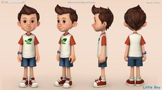 Blender Character Modeling, Character Model Sheet, Kid Character, Character Drawing, Character Concept, Cartoon Body, Maya Modeling, Character Turnaround, Blender Models