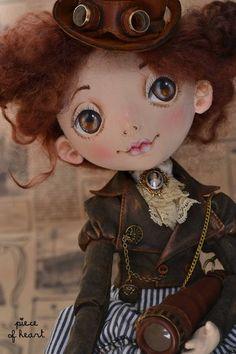 Коллекционные куклы ручной работы. Ярмарка Мастеров - ручная работа позволь себе немного приключений.... Handmade.