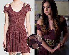 Aria's gorgeous dress in PLL s5e16