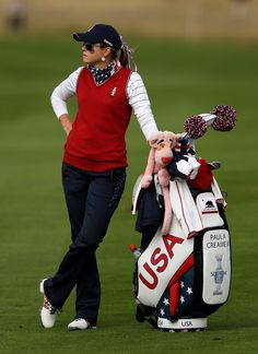 """Solheim Cup - Day One.  What's Paula thinking? """"Some day soon I'm going to WIN!""""  ..............."""