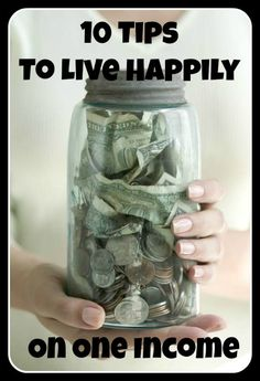 These are Great ideas for those living on one income!