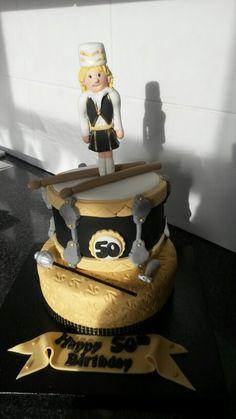 Jazz band cake