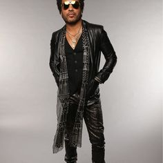 Everyone enjoys listening to music. Different people will have different preferences in regards to the type or genre of music. Rocker Look, Look Good Feel Good, Lenny Kravitz, Listening To Music, Leather Pants, Black Leather, What I Wore, Insta Pic, Outfit Of The Day