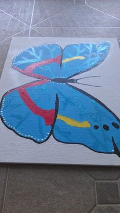 I made this with acrylics and glitter paint! Email me at mailto:bjkbananas... if you want to know how I did it!