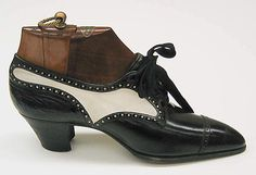 ๑ Nineteen Fourteen ๑ historical happenings, fashion, art & style from a century ago - Yantorny shoes 1914-19