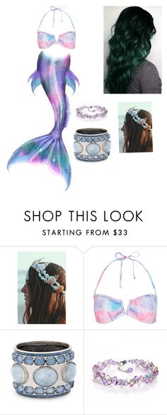 """Mermaid Tale"" by descendants101 ❤ liked on Polyvore featuring Monsoon and Chico's"