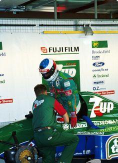 Michael Schumacher First Formula 1 Start Spa Jordan - Ford 1991