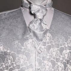 Seremonivest med tilbehør i sølv Floral Tie, Barn, Shirt Dress, Mens Tops, Shirts, Dresses, Fashion, Lily, Vestidos
