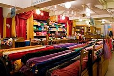 If I ever get back to PARIS, now I'll know where to go fabric shopping.