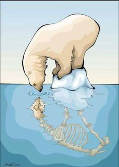 Tragic consequences of global warming, landfill and pollution Save Planet Earth, Save Our Earth, Global Warming Poster, Global Warming Drawing, Art Environnemental, Save Mother Earth, Gcse Art, Environmental Art, Climate Change