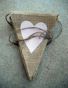 Cake Table Burlap Wedding Banner / Photography Prop / La Dolce Vita. $36.00, via…