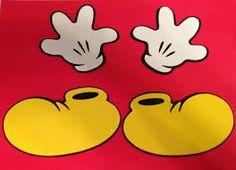 Resultado de imagen para contorno de mickey mouse para imprimir